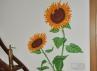 Slunečnice v kuchyni