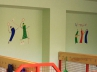 Školní šatna v Praze 9