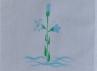 Křestní rouška - 6 Lilie