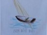 Křestní rouška - 8 Loď s paprsky - Jsem