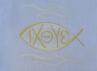 Křestní rouška - 10 Ryba - symbol