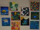 Abstraktní-obrazy-na-plátně